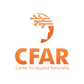 Center for Applied Rationality logo.